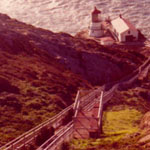 California, north coast, 1987, LightHouse!