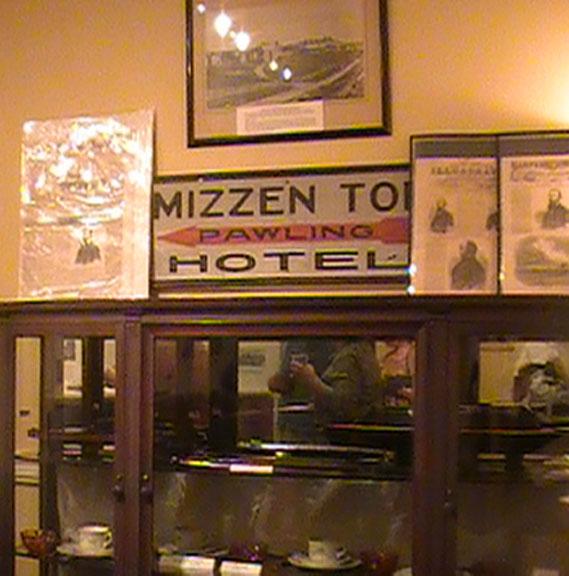 Sign Quaker Hill Corner Mizzen Top Hotel Pawling Left August 24 12